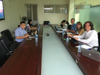 Team meeting at the Hanoi University of Science and Technology
