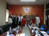 Partners meeting at the Ho Chi Minh City University of Technology